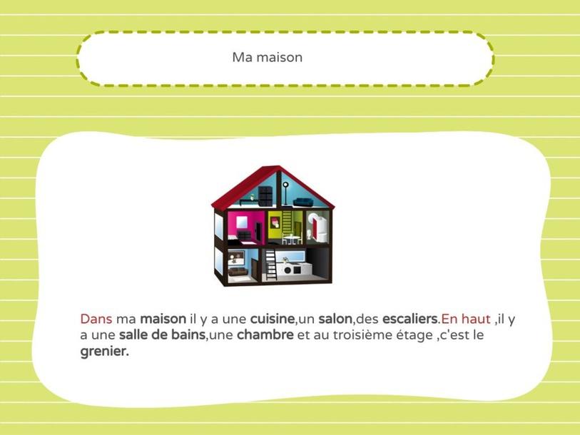 Ma maison by Vic Gerasopoulou