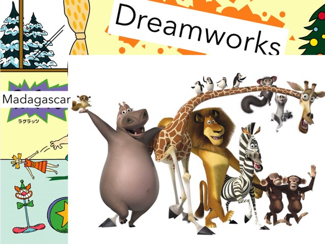 Madagascar 2 I Like To Move It by George awrahim