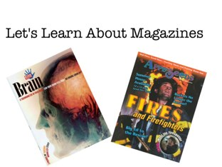 Magazines  by Jeanette Webre