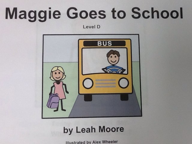 Maggie Goes To School by Julie Gittoes-Henry