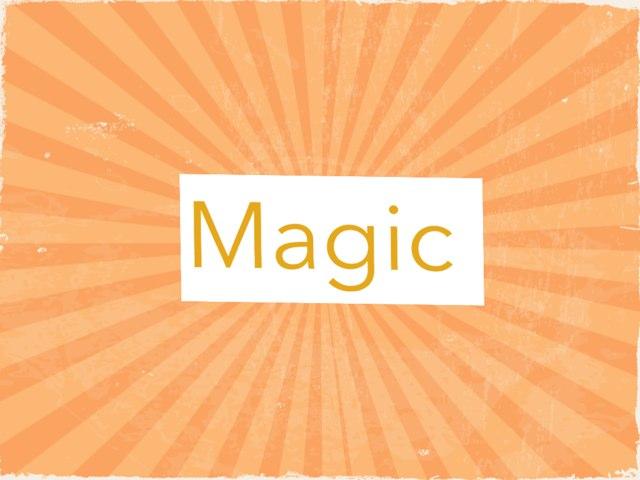 Magic Tricks by Carolina Pagani