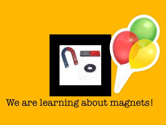 Magnets! by Kate Hamelin