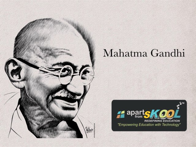 Mahatma Gandhi by TinyTap creator