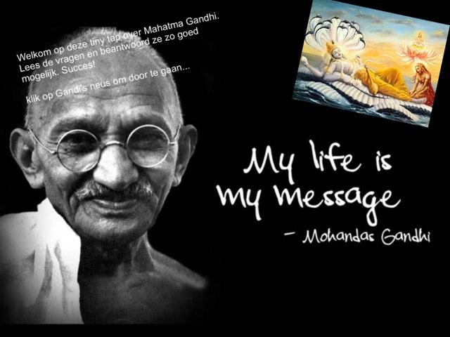 Mahatma Gandhi by Caspar Middeldorp