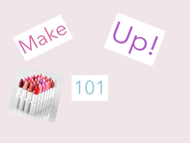 Make Up 101 by Charlie Sadler