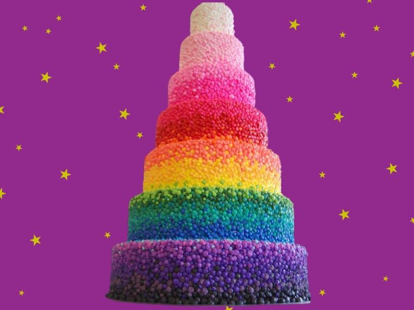 Make a cake with shapes by Teacher Jojo Cat