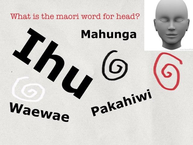 Maori Game(bodyparts) by Lisa Akaroa