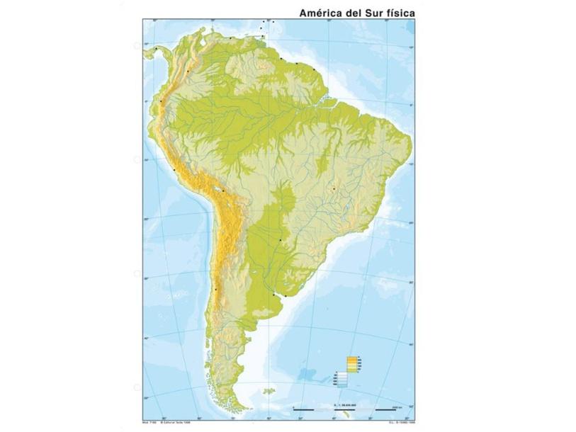 Mapa Sudamérica by Diego Fernández