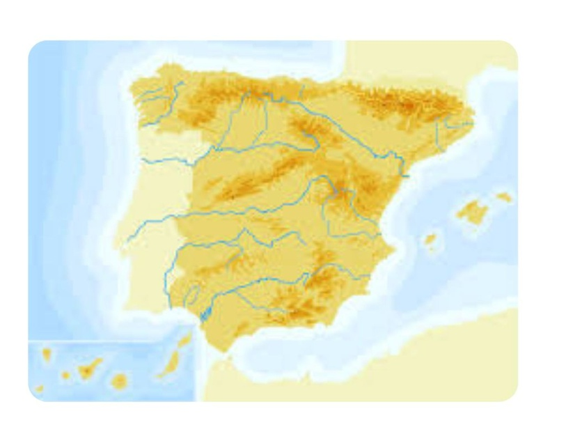Mapa mudo de España by Javier Romero Blázquez