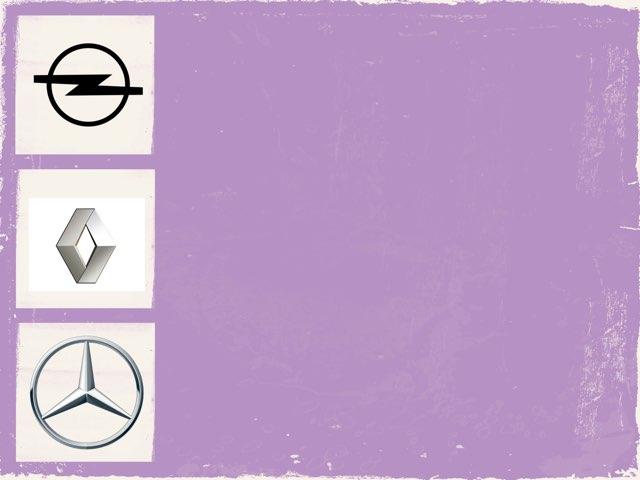 Marcas de coche. Escritura by Iknasi Martorell