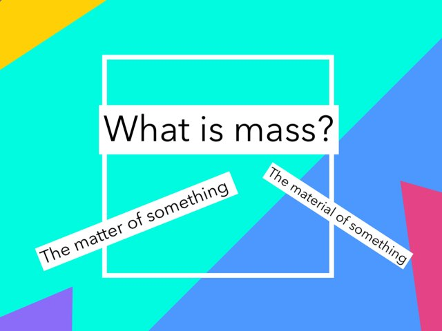 Mass, Volume, and Matter by Nancy Ramirez