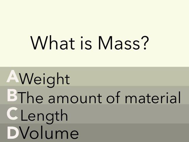 Mass by Elyssa Johnston