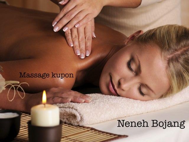Massage by Mariyama Sarr