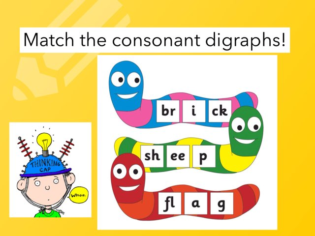 Match The Consonant Digraphs by Deborah Fletcher