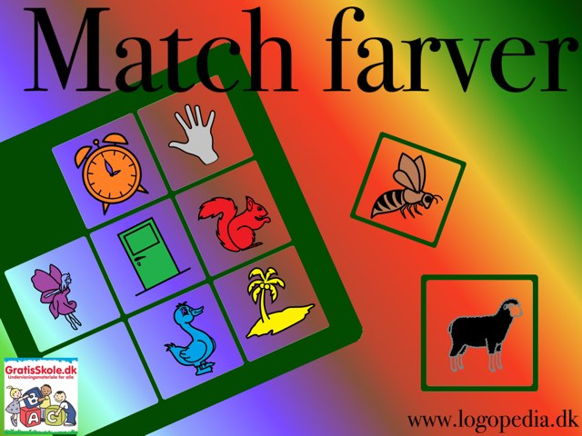 Match farver by Ulla Lahti