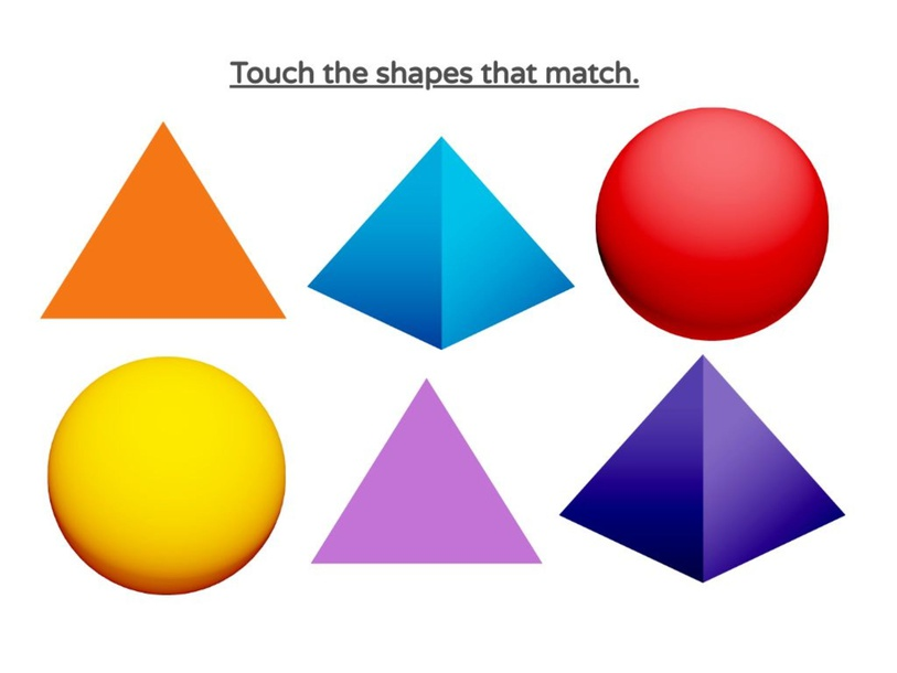 Match Identical Shapes by Kristen Maylone
