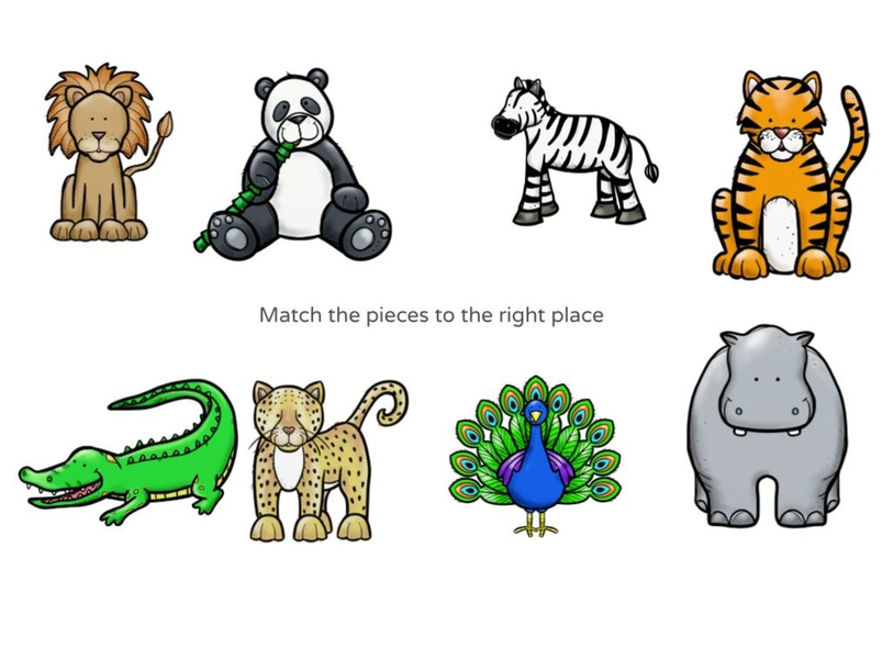 Match the pieces to the right place by My Trần