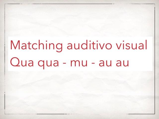 Matching Auditivo Visual Onomatopeia by Ana Roncati