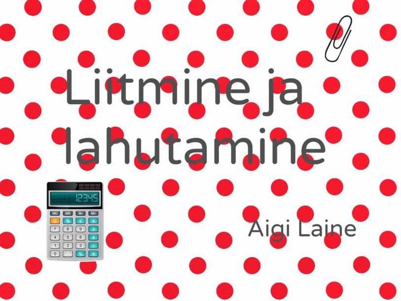 Matemaatika by Aigi Laine