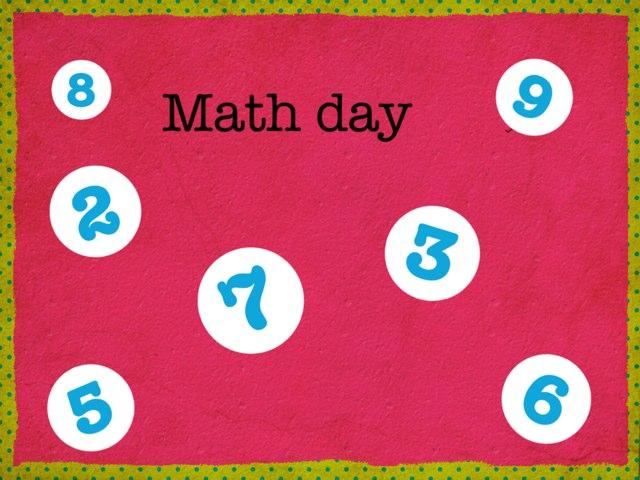 Math Day by Maya Roushdy