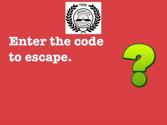 Math Escape 2 by Imane Almoutaa