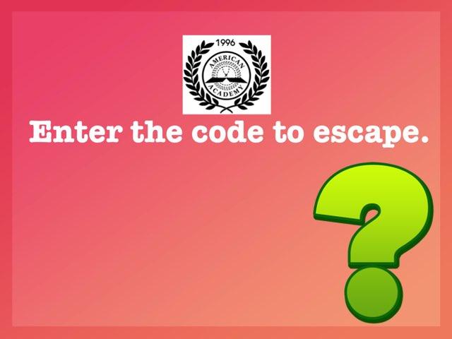 Math Escape 3-1 by Imane Almoutaa