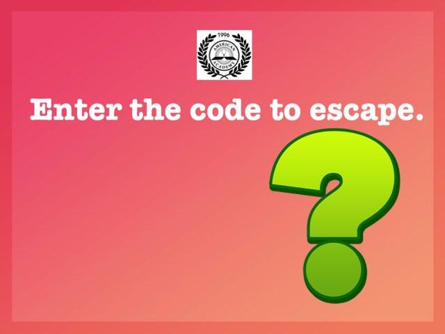 Math Escape 3-2 by Imane Almoutaa