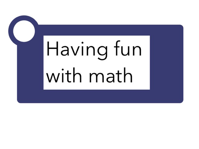 Math Fun by Alexis Stockton