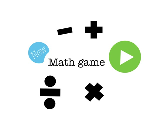 Math Game by Gustavo Colombini