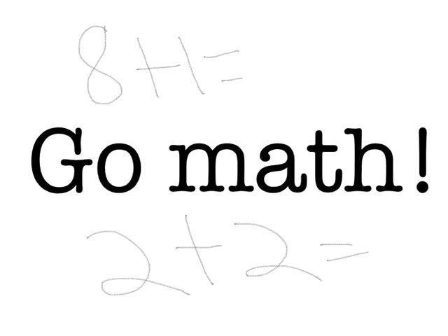 Math Is Awesome by Shelby Bennett