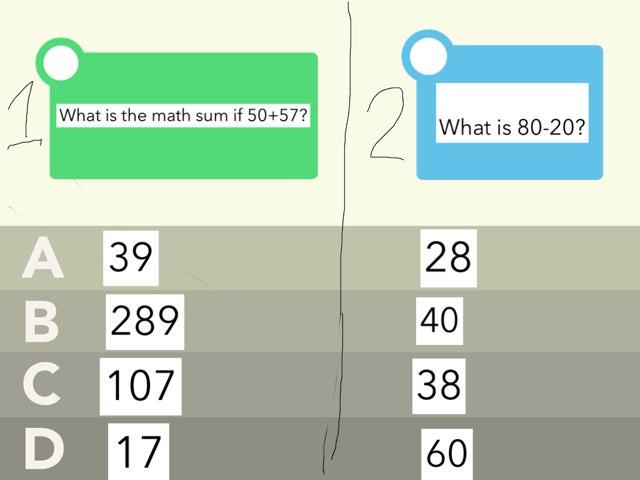 Math Lesson 1 by Heather Bernard