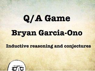 Math Q/A Game by Bryan Garcia-Ono