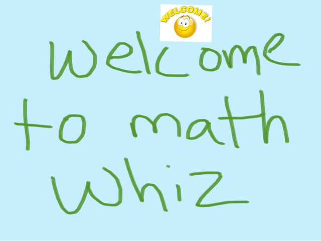 Math Whiz by Abby Bowers