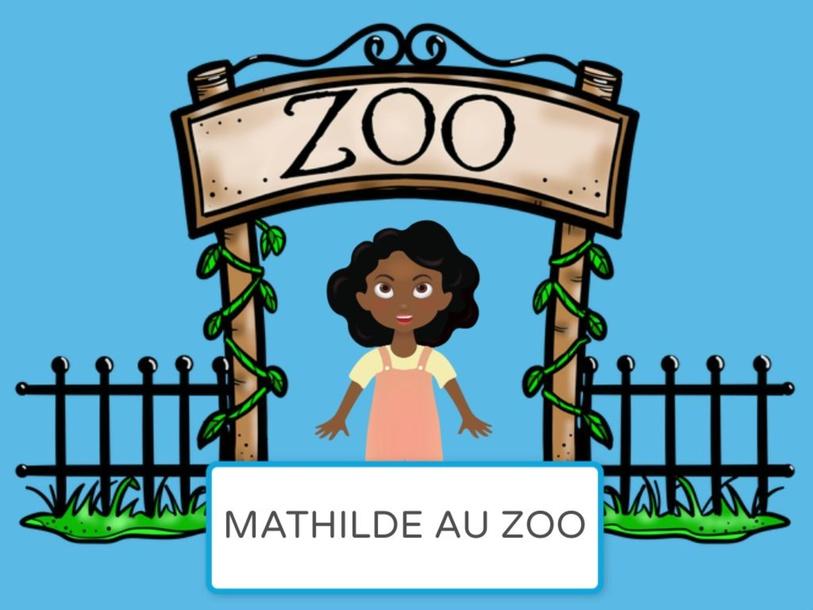 Mathilde au Zoo by Mary (Mary Olivia) Dudley