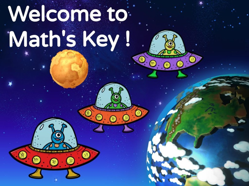 Math's Key (Volume) by TinyTap creator