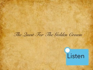 Matthew And Leo - Quest For The Golden Crown by Mr Parkinson