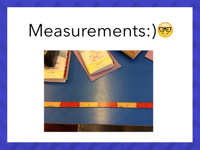Measurement Quiz by Mr Oakden