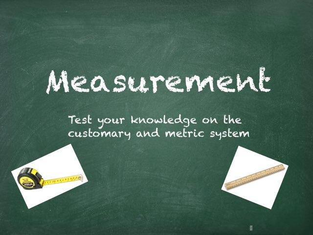 Measurement by John Ferrero