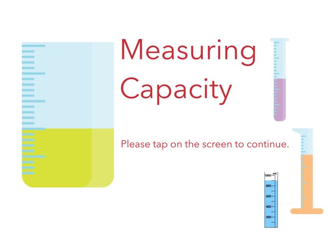 Measuring Capacity Mr Thomas by Gavin Thomas