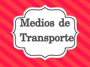 Medios de transporte by Sonia Vásquez
