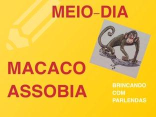 Meio-dia macaco assobia  by Eliana Pinto