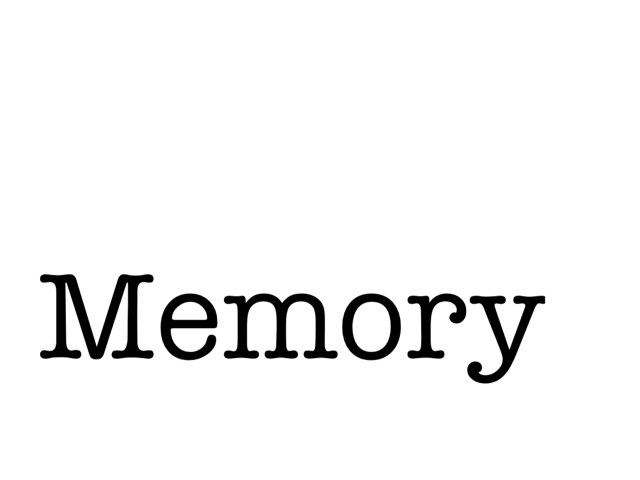 Memory by KidsParents Xpectprimair