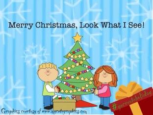Merry Christmas,  I See... by Vicki Clarke