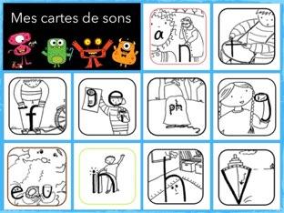 Mes Cartes De Sons 4 by Sylvianne Parent