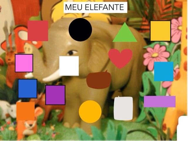 Meu Elefante by Escola lápis de cor