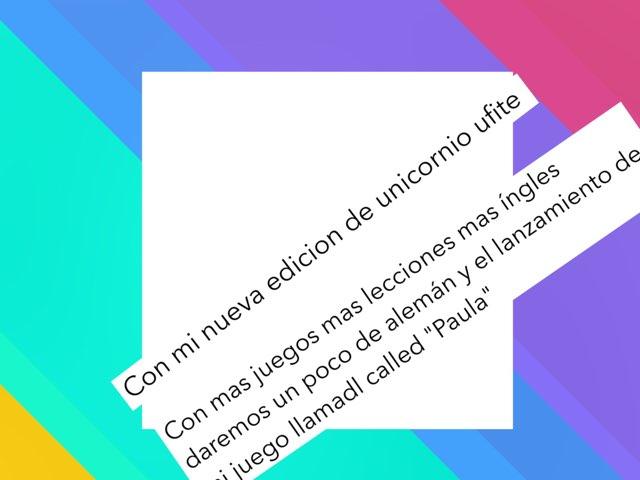 Mi Nueva Edicion by Unicornio Ufite