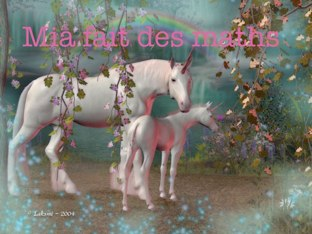 Mia Fait Des Maths by Adele Ho