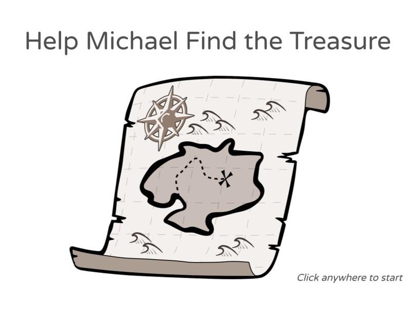 Michael Find the Treasure by Julio Pacheco