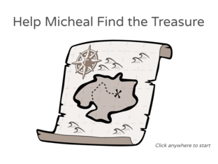 Micheal Find the Treasure by Julio Pacheco