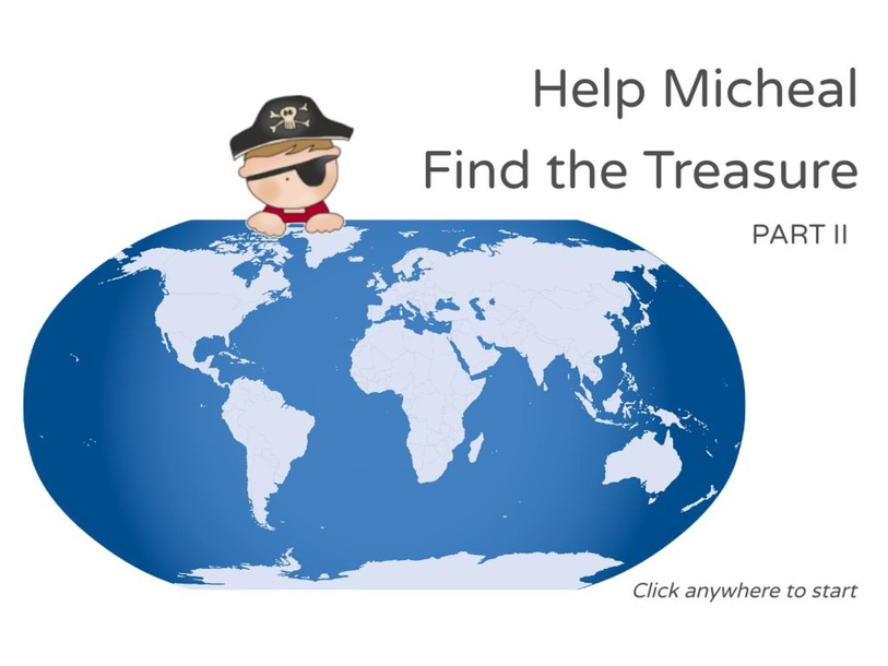 Micheal Find the Treasure - Part II by Julio Pacheco